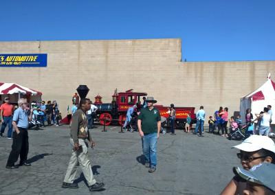 The Disneyland Railroad exhibit